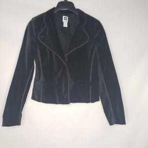GAP Black Velvet Blazer